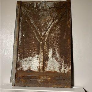 Other - Salvaged tin shingle